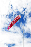 Japanese koi carp. Wind socks blow in the wind Royalty Free Stock Photo