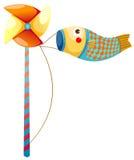 Japanese koi carp windsocks Stock Image