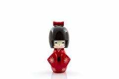 Japanese kokeshi dolls. Royalty Free Stock Photography