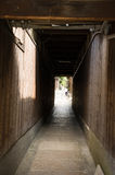 Japanese Kyoto Alleys Stock Photography