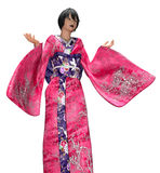 Japanese lady in kimono Royalty Free Stock Image