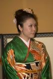 Japanese lady in kimono, Tokyo, Japan Stock Images