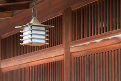 Japanese lamp Stock Image