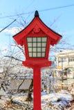 Japanese lamp pole Stock Photography