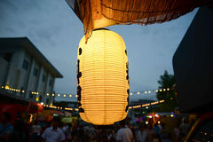 Japanese lamp Stock Image