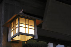Japanese lantern Royalty Free Stock Images