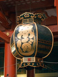 Japanese lantern in asakusa Stock Images
