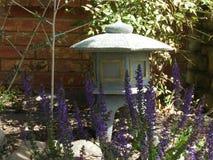 Japanese Lantern. In home garden Stock Photos