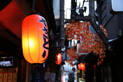 Japanese Lantern Royalty Free Stock Images