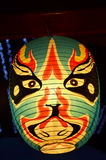 Japanese lantern or lamp  traditional lighting equipment of Japan Stock Image