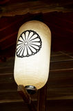 Japanese lantern or lamp traditional lighting equipment of Todai Royalty Free Stock Photography