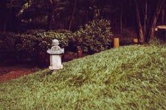 Lantern in garden royalty free stock images