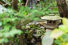 Japanese lantern. Outdoor beautiful scenery landscape Royalty Free Stock Image