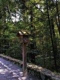 Japanese Lantern. Stand in Ise Jingu Stock Photography