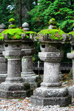 Japanese lantern in temple Royalty Free Stock Photo