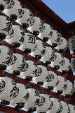 Japanese Lanterns Royalty Free Stock Photo