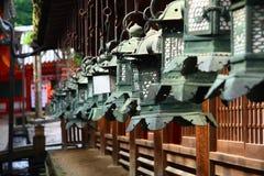 Japanese lanterns Stock Image
