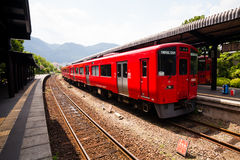 Japanese local train. Stock Photography