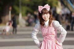 Japanese lolita Royalty Free Stock Photo