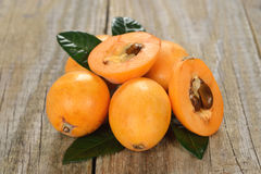 Japanese loquat Royalty Free Stock Images