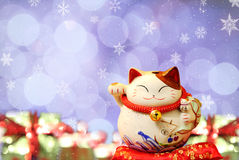Japanese lucky cat Royalty Free Stock Photography
