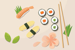Japanese lunch Stock Photography