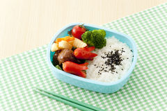 Japanese lunch box stock photos