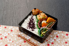 Japanese lunch box Stock Image