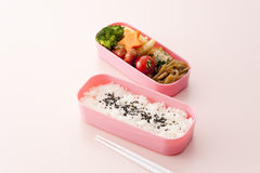 Japanese lunch box Royalty Free Stock Photography