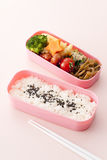 Japanese lunch box Royalty Free Stock Photos
