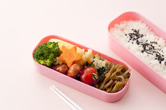 Japanese lunch box Royalty Free Stock Image