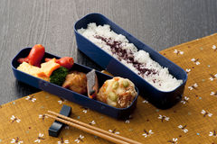 Japanese lunch box Royalty Free Stock Images