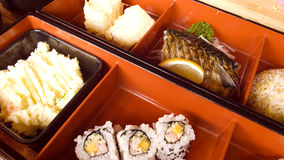 Japanese lunch boxes Royalty Free Stock Image
