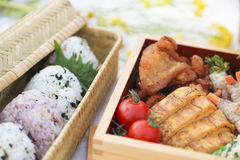 Japanese lunch Royalty Free Stock Photos