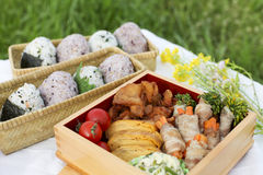 Japanese lunch Stock Photos