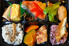Japanese lunchbox - bento Royalty Free Stock Photography