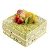 Japanese Macha Cake Stock Images
