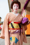 Japanese maiko Royalty Free Stock Photography