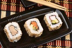 Japanese maki sushi Stock Image