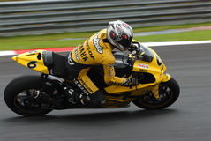 Japanese Makoto Tamada Dunlop Yamaha 2007 Polini M Stock Photos