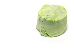 Japanese marble color green tea ice cream #2 stock image