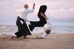 Japanese martial arts Stock Photos