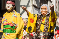 Japanese mask Royalty Free Stock Photography