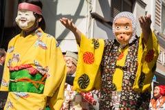 Japanese mask Royalty Free Stock Photography
