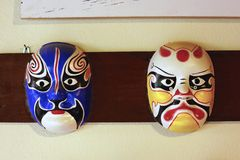 Japanese mask Royalty Free Stock Images