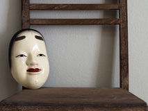 Japanese masks Royalty Free Stock Images