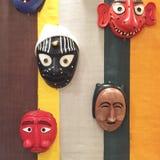 Japanese masks Stock Images