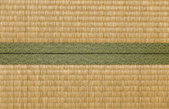 Japanese mat. Background material on the side Stock Image