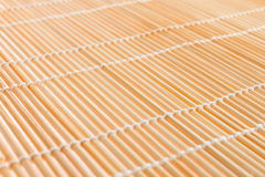 Japanese mat, texture to make sushi Royalty Free Stock Image