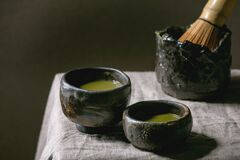 Free Japanese Matcha Green Tea Stock Image - 182970591